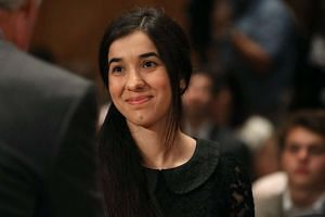 Nadia Murad is one of two Yazidi women activists who have been awarded the European Parliament's prestigious Sakharov human rights prize for this year on Oct 27, 2016.