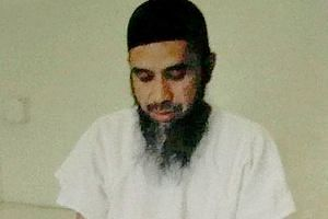 """Hambali in his Guantanamo Bay cell in June 2009. The 52-year-old, believed to be the mastermind of the 2002 Bali bombings, continues to be a """"significant threat to the security of the United States"""", said the Periodic Review Board in rejecting his ap"""