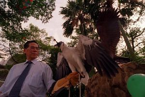 Dr Kwa Soon Bee was also the chairman and managing director of the Jurong BirdPark.