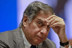 Mr Ratan Tata attending the annual general meeting of Tata Steel, in Mumbai, India, on Aug 14, 2012.