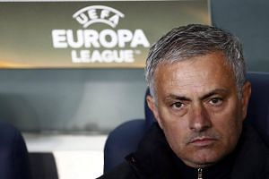 Jose Mourinho during the Uefa Europa League group A match between Fenerbahce and Manchester United.