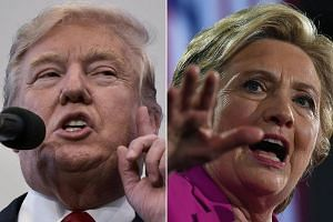 US presidential nominees Hillary Clinton and Donald Trump are making a final push through critical swing states in the last weekend of the election.