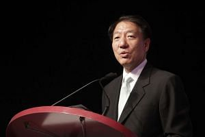 """Deputy Prime Minister Teo Chee Hean said that the """"elected presidency plays an important custodial role in safeguarding our key assets, in a way a purely parliamentary process cannot""""."""