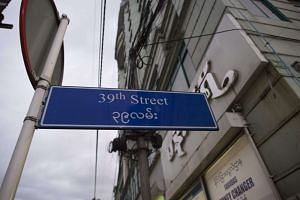 A British man was found dead in his co-worker's apartment, along 39th Street in Yangon, on Nov 6, 2016.