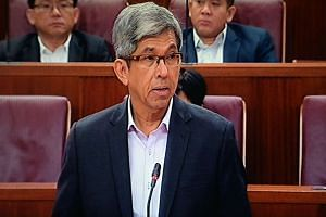 Dr Yaacob Ibrahim in Parliament on Nov 7, 2016.