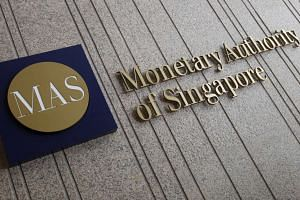 "The Monetary Authority of Singapore said that it is ready to ""curb excessive volatility in the trade-weighted Singapore dollar if needed""."