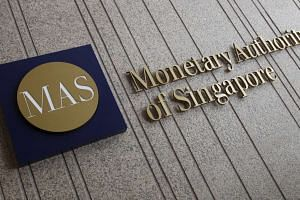 The logo of the Monetary Authority of Singapore.