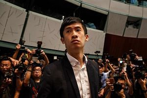 Mr Sixtus Leung won a seat in Hong Kong's Legislative Council even though he was not his party's first-choice candidate for New Territories East. He came in after favourite Edward Leung was banned by Beijing.