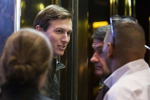 Jared Kushner, President-elect Donald Trump's son-in-law, at Trump Tower on Fifth Avenue in New York, Nov. 14, 2016.