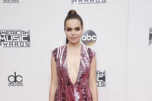 Actress Bailee Madison arriving at the 2016 American Music Awards in Los Angeles, California, on Nov 20, 2016.