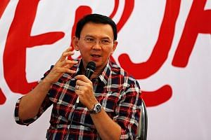 Mr Basuki on the campaign trail for the upcoming election for governor in Jakarta. His direct communication style has made him both friends and foes.