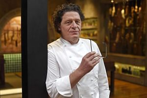 UK celebrity chef and restauranteur Marco Pierre White.