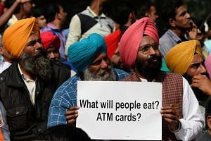 India's oppposition parties are protesting over the countrywide demonetisation process introduced by Prime Minister Narendra Modi on Nov 8, 2016.