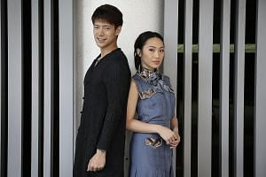 Oon Shu An and Louis Wu are husband and wife in the local anthology movie 4Love.