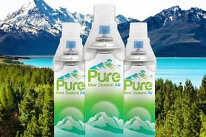 Bottled fresh air from New Zealand is bring imported to China which suffers from an air pollution problem.