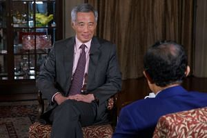 PM Lee in an interview with the chairman of Malaysian state news agency Bernama Azman Ujang on Monday (Nov 28).