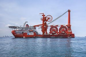 The Lewek Constellation is a flagship vessel of Emas AMC, Ezra's subsea-to-surface solutions provider. Ezra said it expects