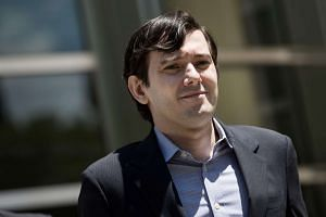 Martin Shkreli exiting the US District Court for the Eastern District of New York on June 5, 2016.