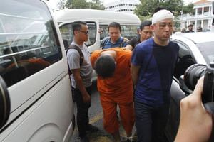 Businessman Datuk Ong Teik Kwang's bodyguard and driver being brought to court over the shooting in Penang.