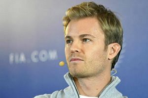 Formula One World champion Germany's Nico Rosberg gives a press conference during the FIA Prize Giving Gala at the Hofburg palace in Vienna, Austria on Dec 2, 2016.