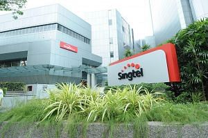 About 80 per cent of its fibre broadband services have been restored, Singtel said in a 7am update.