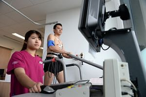 Interventional cardiologist Julian Tan advises one to undergo echocardiogram and treadmill test before taking part in endurance events.