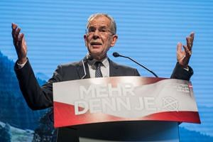 Projections show that Greens-backed independent candidate Alexander Van der Bellen swept 53.6 per cent of the votes in Austria's bitterly fought presidential polls.