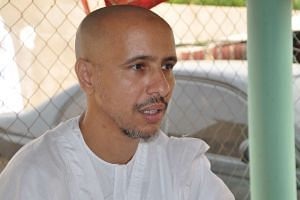 Mohamedou Ould Slahi, a Guantanamo Bay prisoner who wrote a best-selling book about his experiences in the military prison, in Nouakchott in his native Mauritania on October 17 after 14 years of detention. He is believed to be the last inmate from Ma