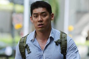 Keith Tan Chee Siang was fined $2,000 after kicking a football against a nine-year-old boy's legs three times to teach him a lesson.