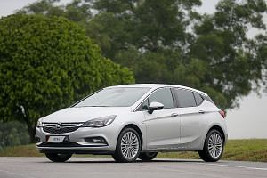 The Opel Astra is powered by a new 1.4-litre turbocharged engine paired with a smooth six-speeder.
