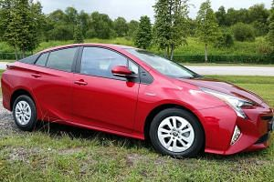 The Toyota Prius 1.8 offers a smooth drive and instant throttle response.