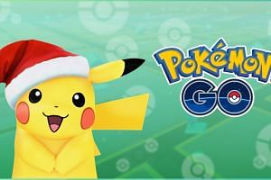 A limited edition of Pikachu wearing a Santa hat will be available for Pokemon Go players to catch from now till Dec 29.