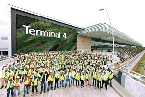 Completed in under three years, the T4 project involved over 4,000 workers at the peak of its construction works.