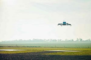 Amazon says it has completed its first fully autonomous drone delivery of a package to a customer. The customer in Britain reportedly received his package within 30 minutes of placing an order online.