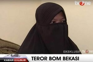 Dian Yulia Novi, who allegedly planned to attack Jakarta's presidential palace, said she was first exposed to radical Islam through Facebook while working as a maid overseas.