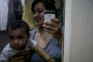 Felicia Barahona was found on the living room floor with an electrical cord wrapped around her neck and her son, Miguel, was discovered in the bathtub, according to the police.