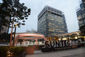 Roads near Suntec City will be closed to vehicles on Friday (Dec 30) and Saturday (Dec 31).
