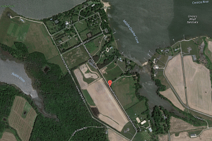 The compound in Maryland sits on around 18ha of land at Pioneer Point, a peninsula where the Corsica and Chester rivers merge.