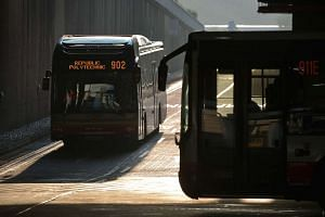 Three bus drivers were assaulted on Saturday  afternoon (Dec 31) while they were on duty.
