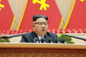 North Korean leader Kim Jong Un said the country was close to test-launching an intercontinental ballistic missile.