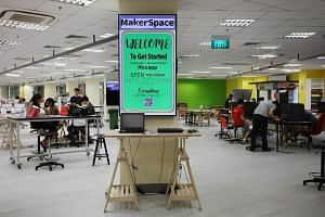 MakerSpace@NYP, which opened last July 4, has become increasingly popular with students.