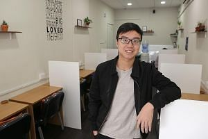 Mr Tan started a study area called Desk Next Door, which can take up to 18 people, in a Housing Board shophouse in Ang Mo Kio Avenue 10 in July last year.