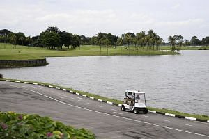 Raffles Country Club is the second golf club here to be acquired for the development of the high-speed rail project.