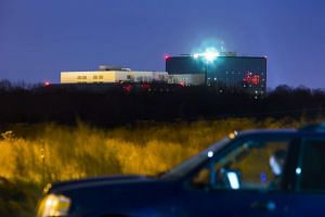 The headquarters of the National Security Agency (NSA) in Fort Meade, Maryland.