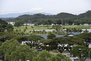 Raffles Country Club (left) will make way for a massive depot and stable for the upcoming Cross Island MRT line and the high-speed rail project linking Kuala Lumpur and Singapore.