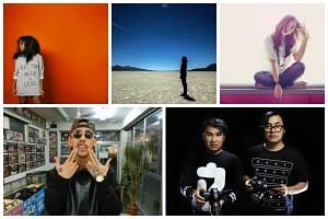 Some of the international and Asian acts to watch out for at the St Jerome's Laneway Festival on Jan 21: (clockwise from top left) British singer-songwriter Nao, techno musician Tycho, Malaysian singer Froya, Indonesian electronic pop duo Bottlesmoke