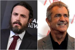 Casey Affleck and Mel Gibson.