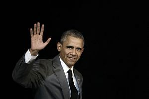 Mr Barack Obama's cross-country trek would be a sentimental trip down memory lane, were it not slap-bang in the middle of a tumultuous presidential handover.