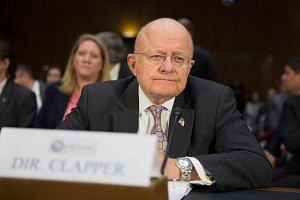 James Clapper, Director of National Intelligence, testifies during a Senate Armed Services Committee hearing on Russian Intelligence Activities on Capitol Hill in Washington on Jan 10, 2017.
