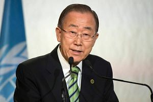 """Former United Nations chief Ban Ki Moon said he was """"perplexed and embarrassed"""" over bribery accusations brought by US prosecutors against his brother and nephew."""